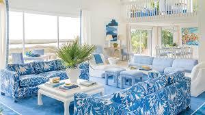 40 Beautiful Beachy Living Rooms Coastal Living Unique Blue Living Room Designs