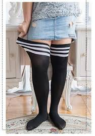plus size thigh high socks high over the knee socks thigh high stockings opaque japanese school