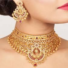 Latafat Chokar Set in 2019 | <b>Wholesale gold jewelry</b>, <b>Jewelry</b>, <b>Bridal</b> ...