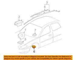 buick gm oem 05 07 lacrosse airbag air bag srs front impact sensor buick gm oem 05 07 lacrosse airbag air bag srs front impact sensor 10372781