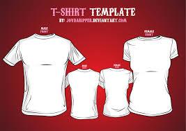 Tee Shirts Templates Vector T Shirt Template By Jovdaripper On Deviantart