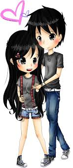 image love couple cartoon png clipart