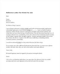 5 Sample Reference Letter For Friend Templates Who To Write