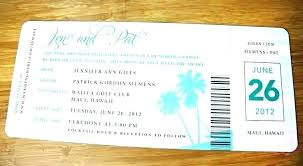 Boarding Pass Design Template Boarding Card Wedding Invites With
