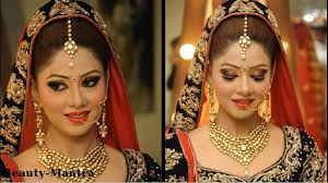 indian wedding makeup for a beautiful bride
