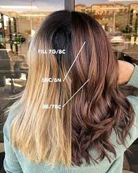 how to dye blonde hair brown without it