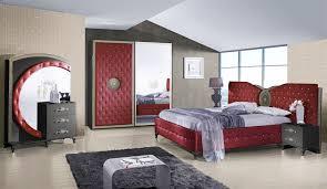 Schlafzimmer Anatalia In Rot Schwarz Luxus Design Kaufen Bei Kapa