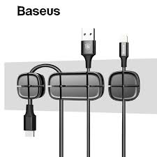 Cable Ties & Organizers <b>Baseus Magnetic protector</b> Cable Clip ...