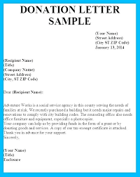 Donation Letter Example Simple Donation Appeal Letter Template Homefit
