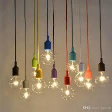muuto pendant light e27 socket lamps diy pendant lamp bar light restaurant light silicone rubber ceiling pendant lamp bulbs included drum shade pendant