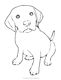 Small Picture We hope you have found a puppy coloring page suitable to your