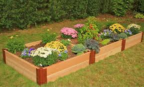 garden bed kit. Image Of: Raised Garden Bed Kit To Flowers
