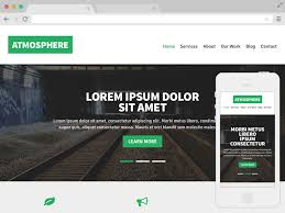 Free Responsive Website Templates Extraordinary Free Responsive Website Templates Free Website Templates