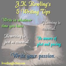 fiction breathing fiction jk rowling 5 writing tips