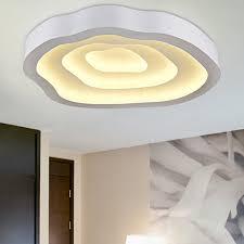brightness 52cm cloud layer pattern modern style simplicity led ceiling lamp metal flush mount living room