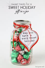 sweet treats for a sweet holiday gift in a jar