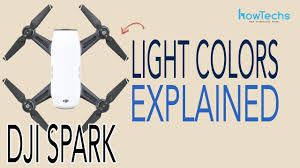 Dji Mavic Pro Lights Meaning Dji Spark What Do The Lights Mean