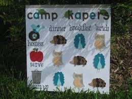 Junior Girl Scout Kaper Chart 40 Right Brownie Kaper Chart Template