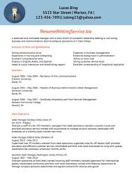 Hotel Manager Resume Sample Dow