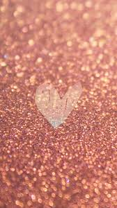Rose Gold Heart Wallpaper (Page 1 ...