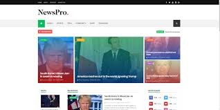 67 Blogger Best Free Responsive News Templates 2019