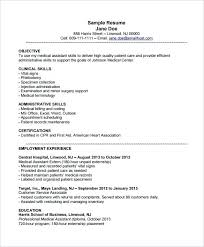 Medical Assistant Resume Example Classy Medical Assistant Resume Example Creerpro