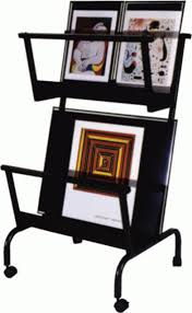 Print Display Stands Double Decker Display Stands Printsleeves 2