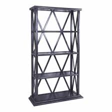 shelf for office. Kriss Bookcase Storm Grey Shelf For Office