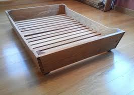 wooden dog bed frame wood bed frame construction wooden dog beds ideas diy dog bed frame