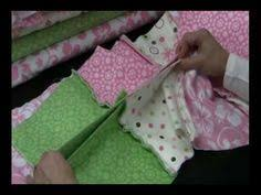 This is the best tutorial you will find for making a baby rag ... & Rag quilt tutorial, very informative, and super easy to follow! Adamdwight.com