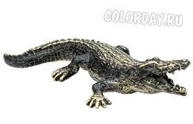<b>статуэтка</b> Крокодил Солидный из бронзы купить   Слоны ...