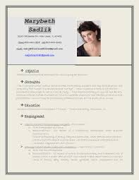 Resume Photographer Resume