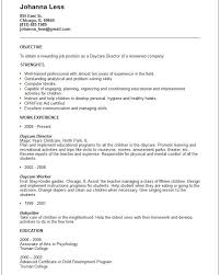 Childcare Resume Template Fascinating Net Resume Sample Fast Child Care Provider Resume Template Ed
