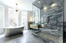 master bath showers bathroom master bath shower ideas contemporary with infinity drain and freestanding tub chandelier