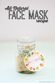 homemade all natural face mask recipe on girllovesglam com