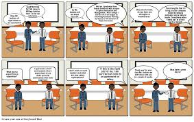 Scenario Interview Interview Scenario Storyboard By Will_34
