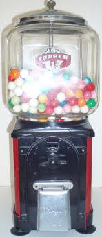 Do Vending Machines Take Pennies Magnificent TOPPER 48 CENT GUMBALL MACHINE 48 Gumball Machine Gumball And Pennies