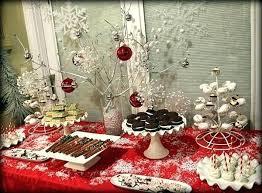 Christmas Dessert Table Table Set Up For Dessert Table Dinner Table