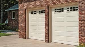 almond garage doorRaised Panel Overhead Doors Garage Door Sales Installation Voyles
