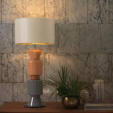 glass cylinder table lamp base