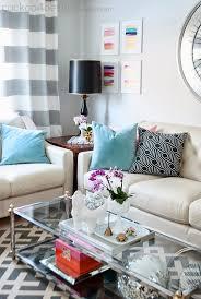 glass coffee table decor ideas