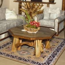 silverton reclaimed barn wood octagon coffee table tables vancouver 1000