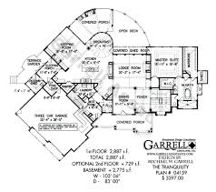 Rustic Lake House With Great Views  Rustic Home Plans Country Luxury Mountain Home Floor Plans