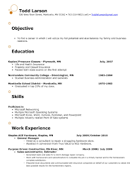 Resume Templates For Retail Management Positions Best Of Resume