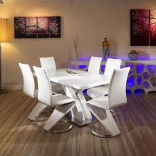 modern exclusive dining table luxurious design 1. Modern Exclusive Dining Table Luxurious Design 1. White Glass Set Top Plus 1 N