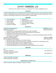 Make A Resume Best Arbitration Representative Resume Example LiveCareer 65