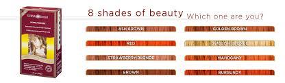 Surya Brasil Color Chart Natural Henna Powder For Hair Natural Hair Powder Surya
