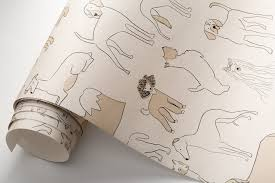 Dog-Patterned Wall Coverings from ...