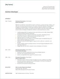 Obiee 11g Developer Resume Developer Resume Sample Resume Resume