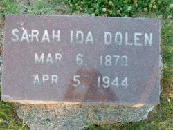 Sarah Ida Doyle Dolen (1870-1944) - Find A Grave Memorial